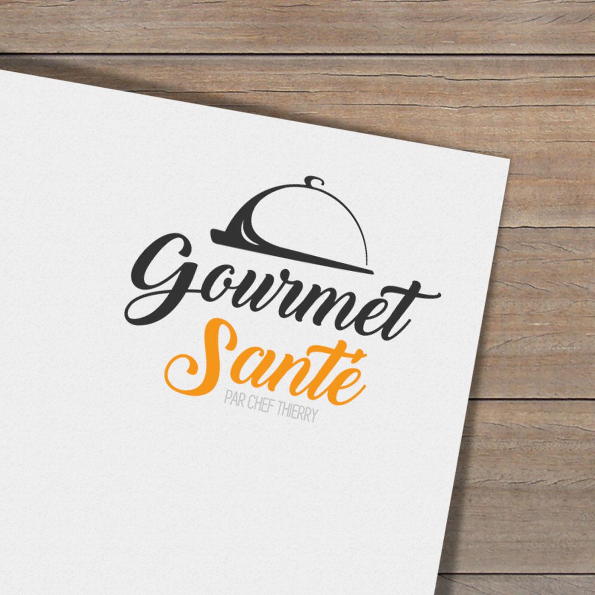 Kesho Communications - Gourmet Santé - Création d'un logo