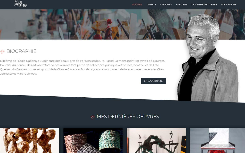 Kesho Communications - Pascal Demonsand - Site internet